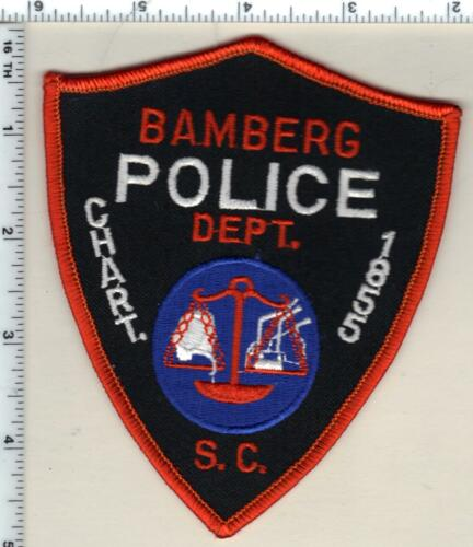 Bamberg Police (South Carolina) Shoulder Patch new from 1989