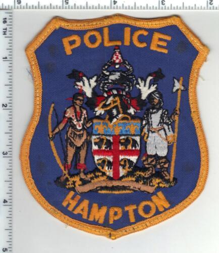 Hampton Police (Virginia) 1st Issue Uniform Take-Off Shoulder Patch