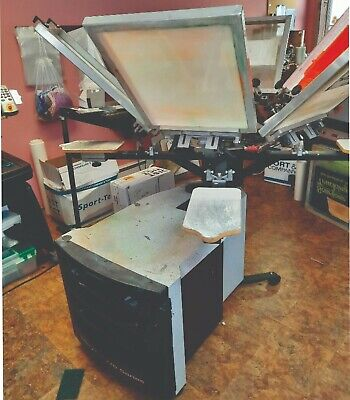 Screen Printing Machine By Printa Systems - 6 Color 4 Station Womni Cure Dryer
