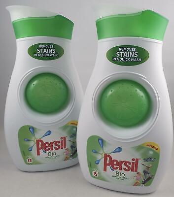2X Persil Bio Detergente para Ropa 525ml 15 Lavado