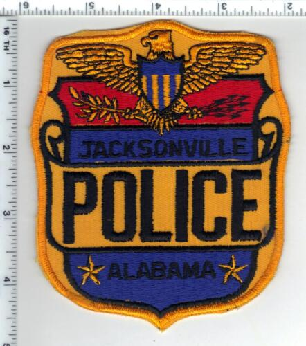 Jacksonville Police (Alabama) Shoulder Patch - New from the 1980