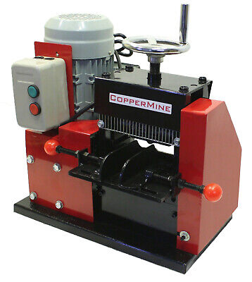 Large Cable Wire Stripping Machine Copper Wire Stripper Strips Up To 3 12 -410