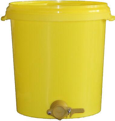 Hobbock, Honigeimer, Quetschhahn, Honig abfüllen, Imkereibedarf, Honigernte