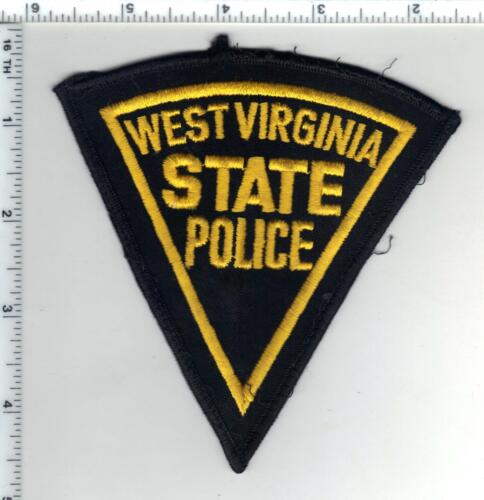 State Police (West Virginia) Uniform Take-Off Shoulder Patch from the 1980