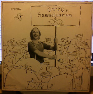 German Comedy LP by OTTO WAALKES Otto'Sammelsurium 197? - Italia - German Comedy LP by OTTO WAALKES Otto'Sammelsurium 197? - Italia
