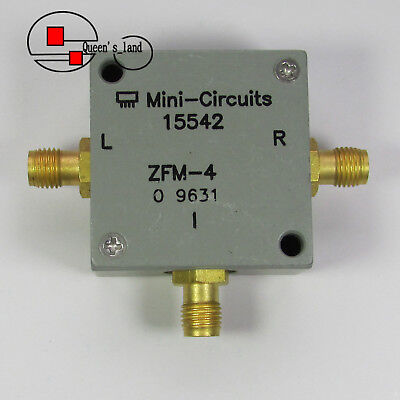 1 Mini-circuits Zfm-4 5-1250mhz Sma Rf Microwave Coaxial Frequency Mixer