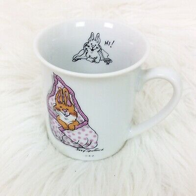 """Suzy's Zoo Bunny Rabbit Child's Mug Cup Suzy Spafford 1976 Vintage 2 1/2"""" H for sale  Monteagle"""