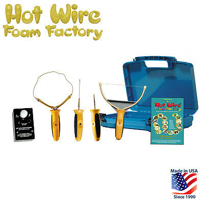 Foam Styrofoam Cutter Tool Kit Set W Hot Knife Sculpting Tool Engraver Router