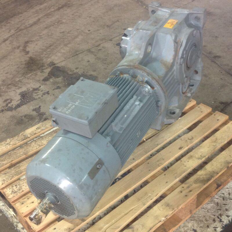 Sew-eurodrive 25hp 29.00:1 Ratio Gearmotor Kh107b Dv180m4bm30hrtf-2we 100082