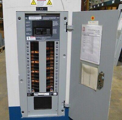 Siemens 200 Amp Main Panel 30 Circuits 208120 S1c30ml250cbs Aluminum Bl Feeders