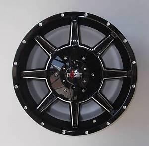 "18"" Crossfire Assult Alloys To Suit Large Cars & Vw Amarok Toowoomba Toowoomba City Preview"
