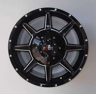 """18"""" Crossfire Assult Alloys To Suit Large Cars & Vw Amarok"""