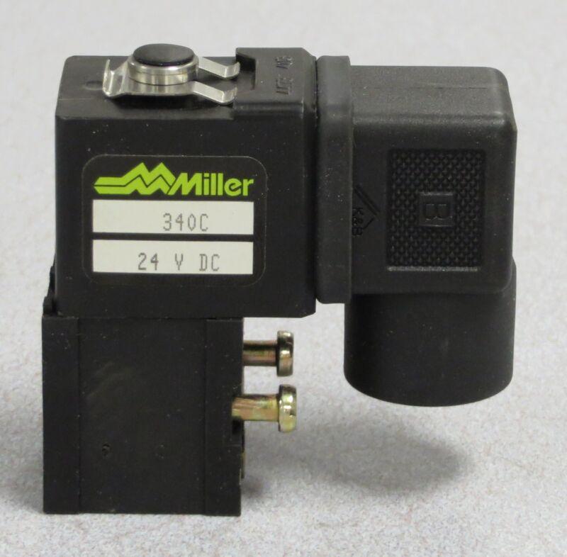 MILLER FLUID POWER Solenoid M/N: 340C - 24VDC
