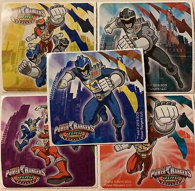 20 Power Rangers Dino Charge STICKERS Party Favors Supplies Birthday](Power Ranger Party)
