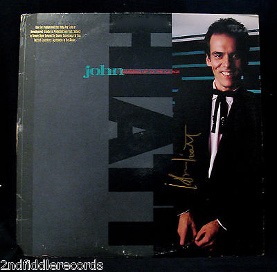 JOHN HIATT-Autographed WARMING UP TO THE ICE AGE Promo Album-GEFFEN #GHS 24055