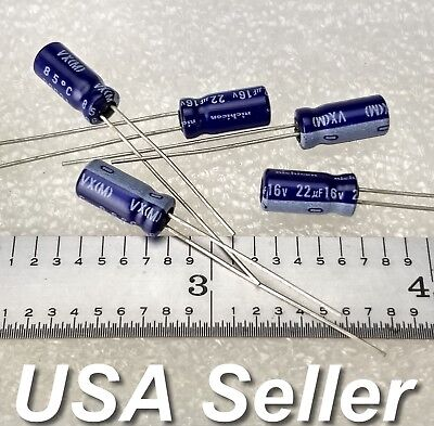 40 Pcs of Nichicon VR Series 16V 100UF Low lmpedance Capacitor Made in Japan