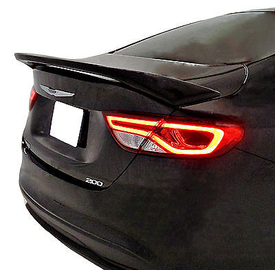 PAINTED ALL COLORS CHRYSLER 200 FACTORY STYLE REAR WING SPOILER 2015 2017