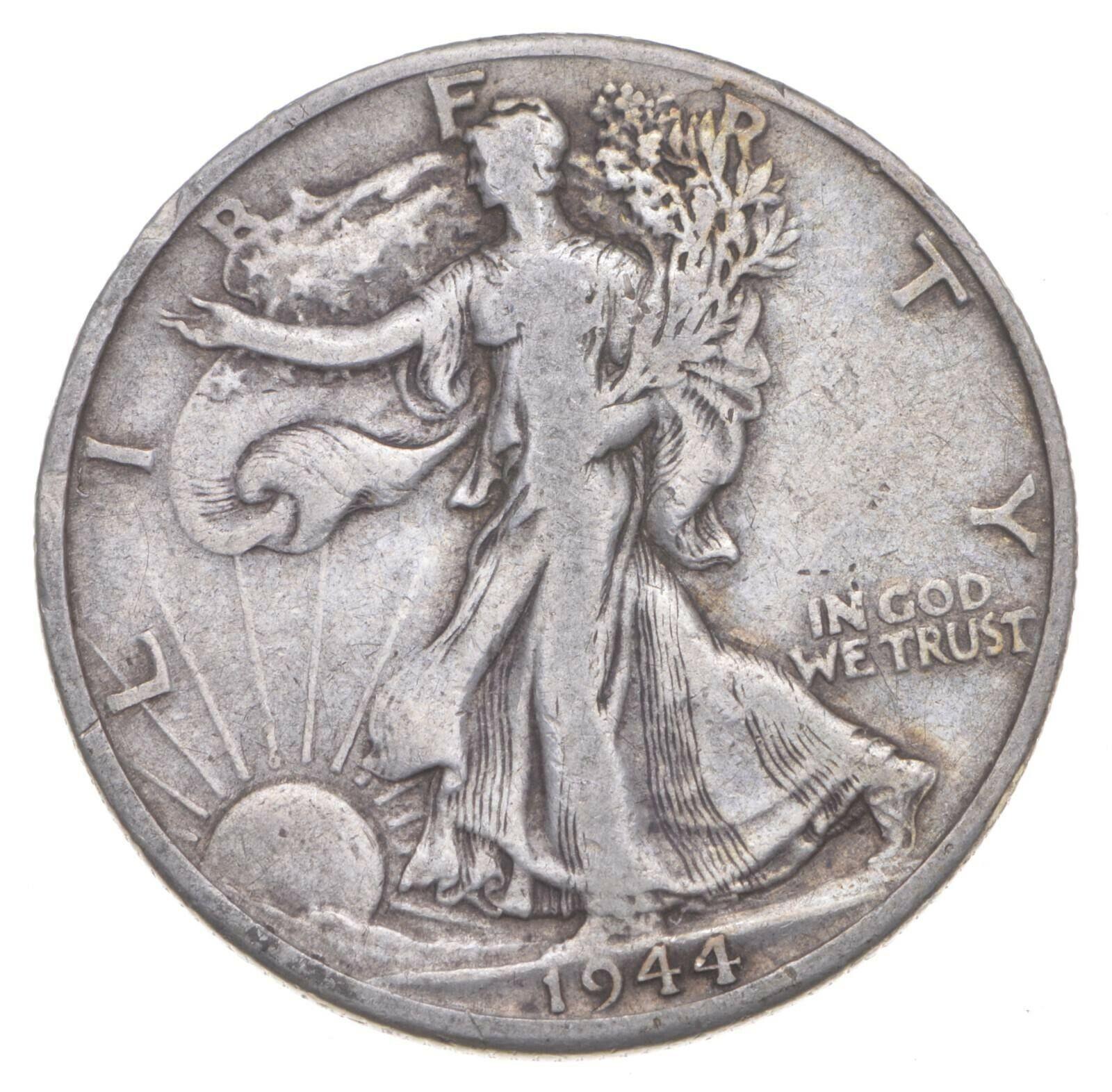 Better 1944-D - US Walking Liberty 90 Silver Half Dollar Coin Set Break 494 - $1.04