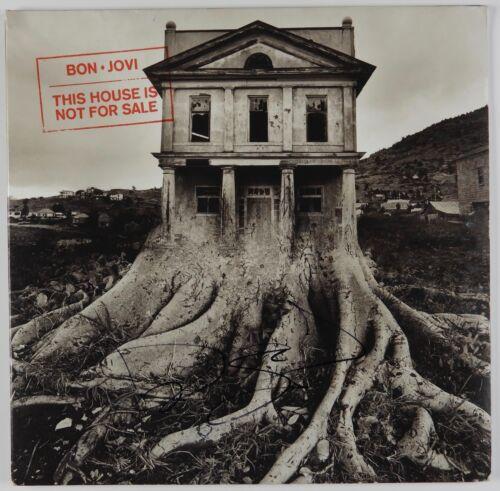 Jon Bon Jovi This House Is Not For Sale Signed Autograph JSA Album LP