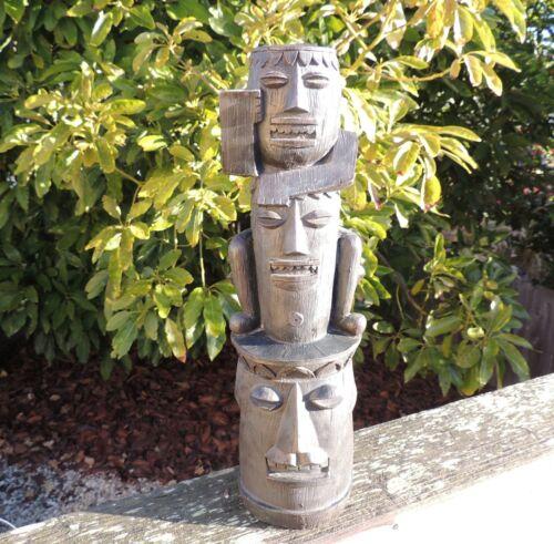 Design Toscano Tiki Statue Gods of the Three Pleasures