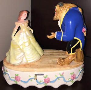Beauty and the Beast Musical Dancing Figurine