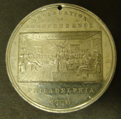 1876 Centennial Exhibition Declaration of Independence Medal Philadelphia