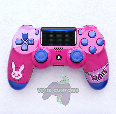 Custom PS4 Controller DVa Overwatch Mod PlayStation 4 Dualshock Pro V2 Gamepad