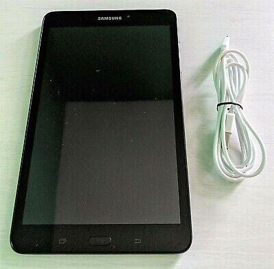 """Samsung Galaxy Tab A Tablet SM-T380 16GB 8"""" WiFi & Bluetooth - Black"""