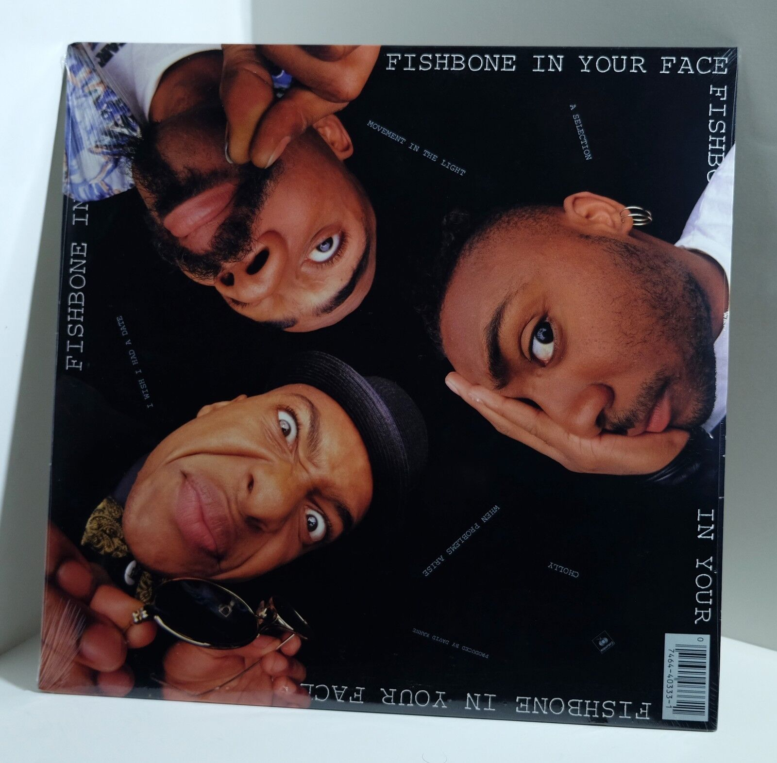 FISHBONE In Your Face VINYL LP Sealed