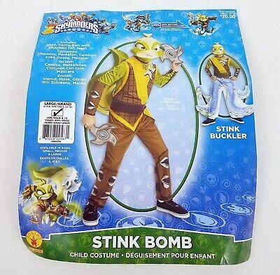 Skylanders Stink Bomb Halloween Costume Rubies Boys Child - Skylanders Halloween-kostüm