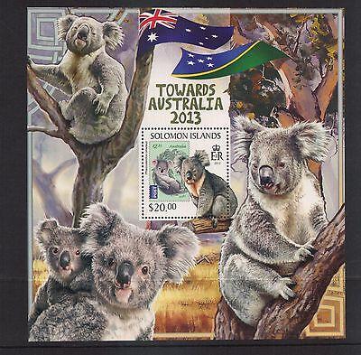 Koalas  Soloman Island..S/S  mnh