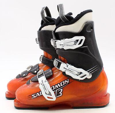 Mondo 20.5 Used Size 2 Burton Progression Youth Snowboard Boots