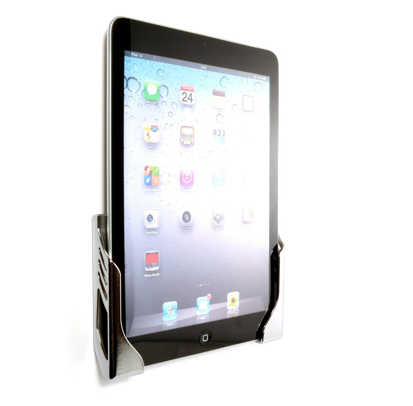 wall mount for ipad air air 2 dock and charge station. Black Bedroom Furniture Sets. Home Design Ideas
