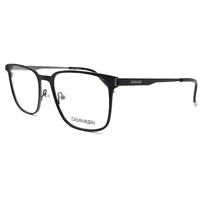 CALVIN KLEIN Eyeglasses CK5454 115 Matte Black Square Men (Square Eyeglasses)