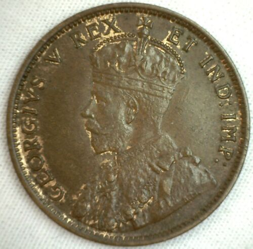 1911 Copper Canadian Large Cent Coin 1-Cent Canada AU #7