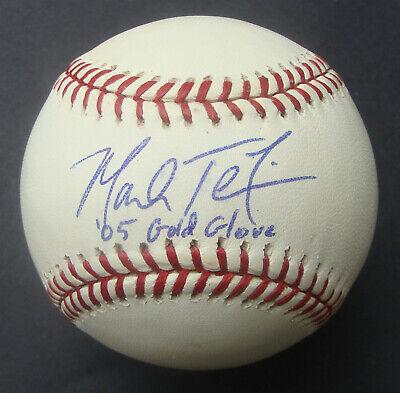 MARK TEIXEIRA Signed Baseball Autographed New York Yankees 05 Gold Glove JSA
