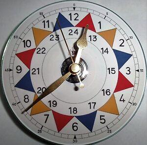Novelty RAF sector room clock on astandard 12cm cd/dvd disc