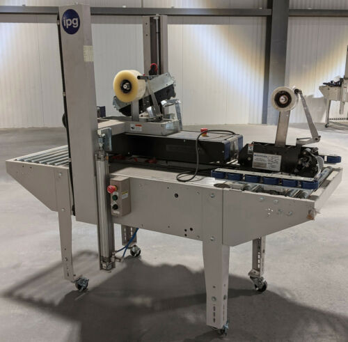 Interpack RSA 2024 Random Box Sealing Machine - Side Belt Drive