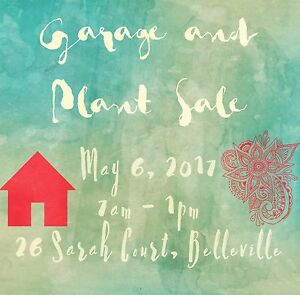 Garage and Plant Sale