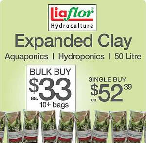Expanded Clay 50L BULK 10+ bags Canning Vale Canning Area Preview
