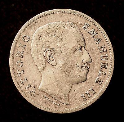 Kgr. Italien, Vittorio Emanuele III., 1 Lira 1906 R