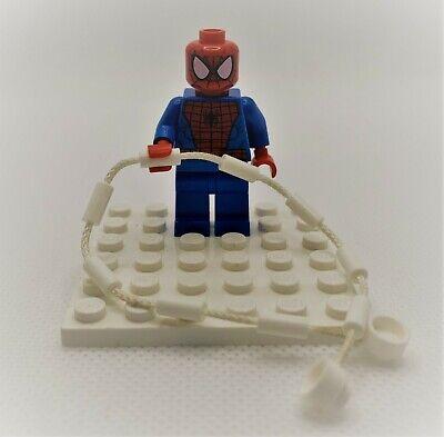 Lego Minifigure Figure Spider-Man - Black Web Pattern Marvel - Lots of Sets