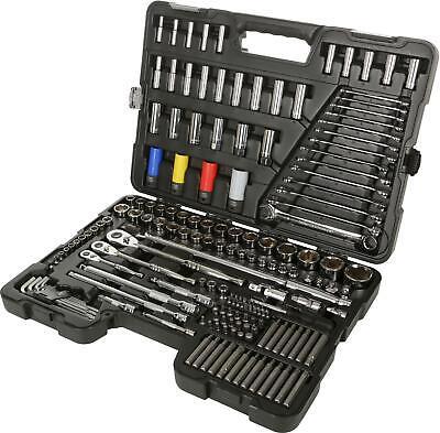 Halfords Advanced 175 Pc Socket & Spanner Set Workshop Tools Lifetime Guarantee