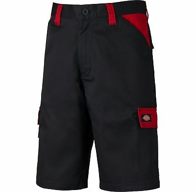 Dickies Everyday Multiple Pocket Work Shorts Black & Red