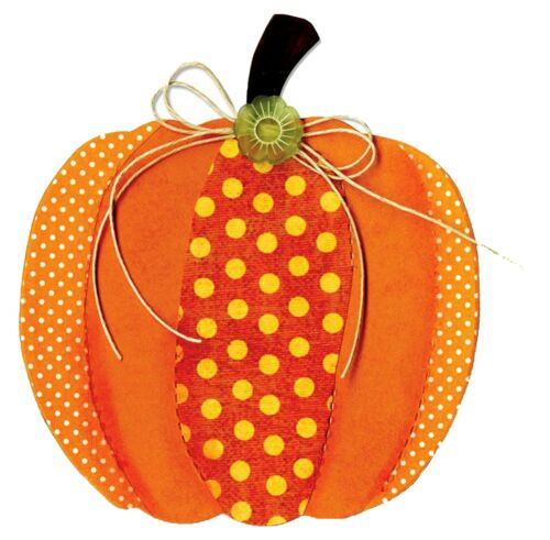 Sizzix Bigz Pumpkin die #A10169 Retail $19.99 Cuts Fabric, FUN!!!