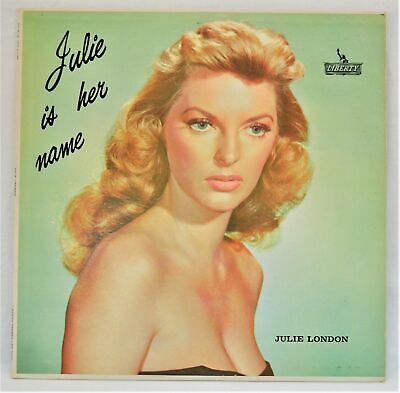 JULIE LONDON JULIE IS HER NAME DG STEREO LIBERTY LP SEALED INSIDE THE SLEEVE