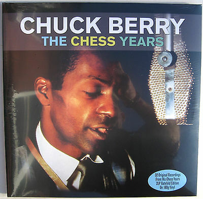 CHUCK BERRY LP x 2 The Chess Years 180 Gram Heavyweight Vinyl Gatefold PS SEALED