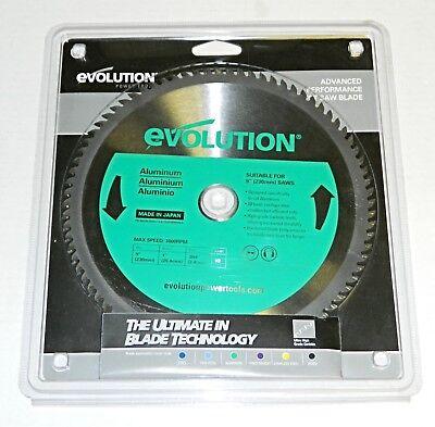 Evolution 9 230mm Tct Saw Blade 80t Carbide Teeth 230bladeal Aluminum