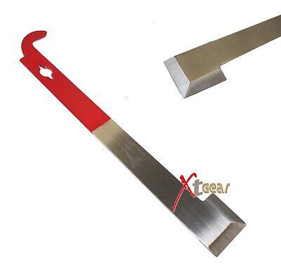 Beekeeper J Shape J-type Hive Beekeeping Hook Equip Stainless Steel Scraper Tool