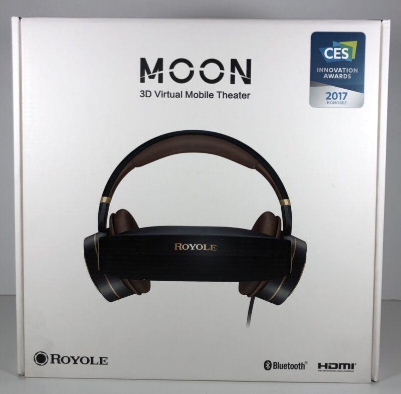 Royole Moon 3D Virtual Mobile Theater, Black #RY0102NANB2